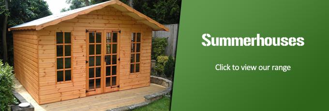 Summerhouse & Chalet Range - Sheds Reading