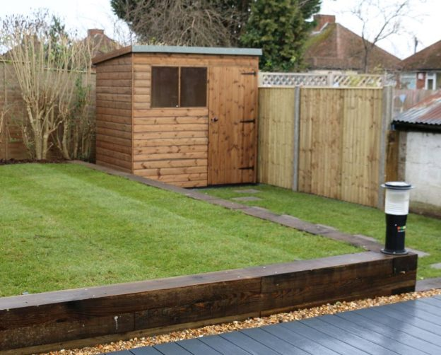 Pent Sturdy Shed Garden Sheds New Line Sheds Reading Berkshire