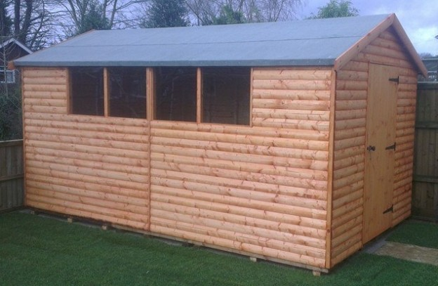 Apex Shed Sturdy Reading