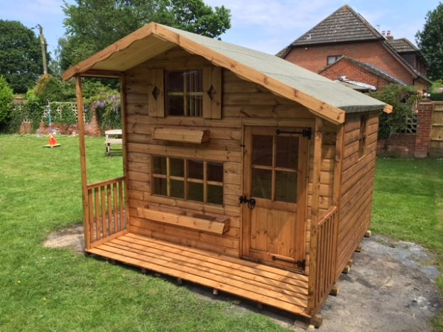 luxury double decker playhouse